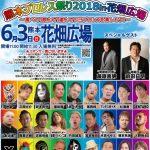 食べて!飲んで!遊んで!1日プロレスを楽しもう!熊本プロレス祭り2018 in 花畑広場